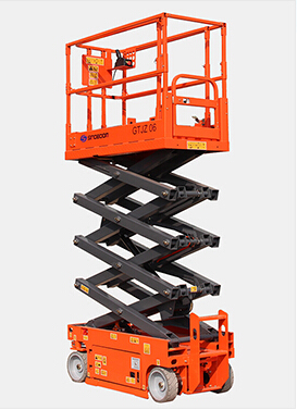 GTJZ0608S self-propelled scissor lift